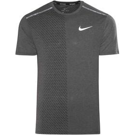 Nike Breathe Tailwind Running T-shirt Men grey/black